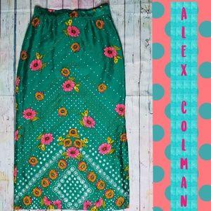 60s/70s Vintage Alex Colman skirt